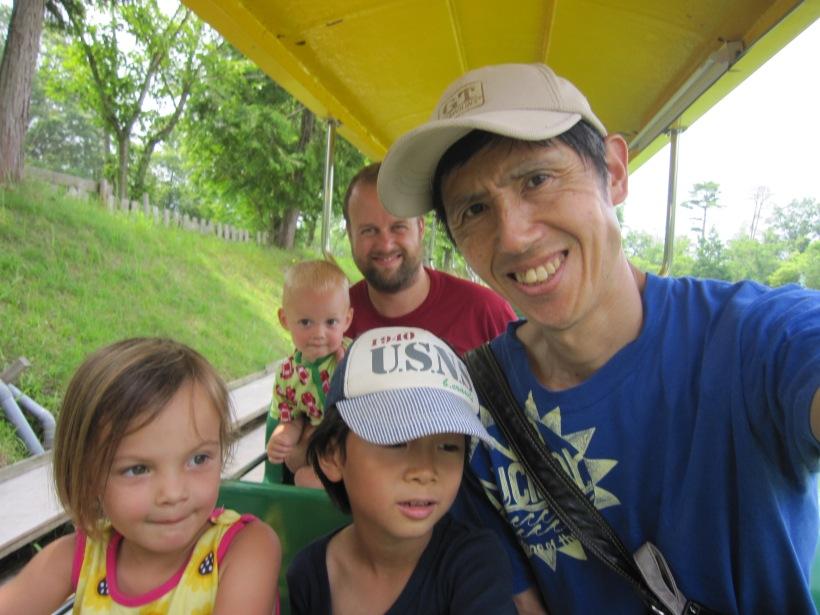 オランダ人家族電車