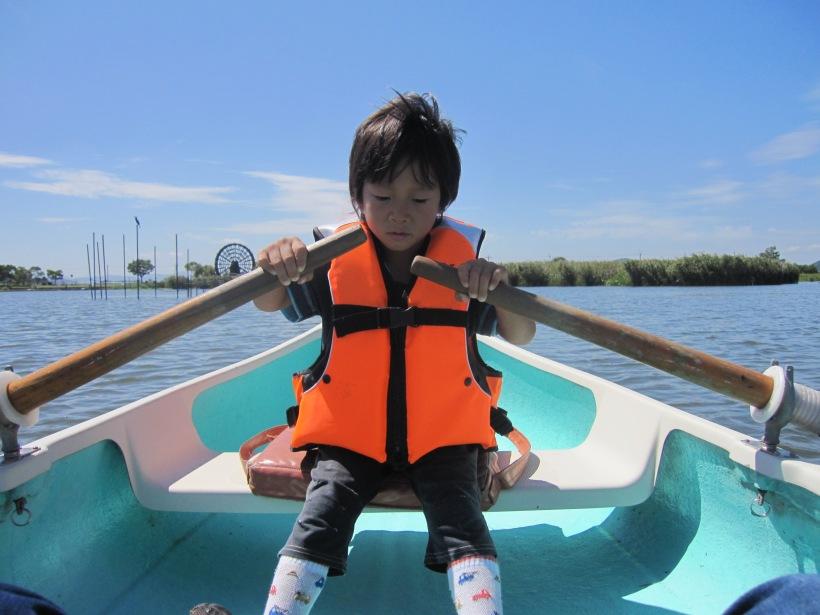 拓ボート漕ぎ2