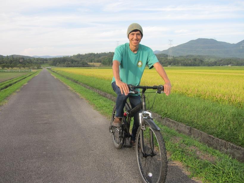 田んぼサイクリング