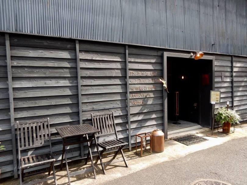 八幡堀のカフェ