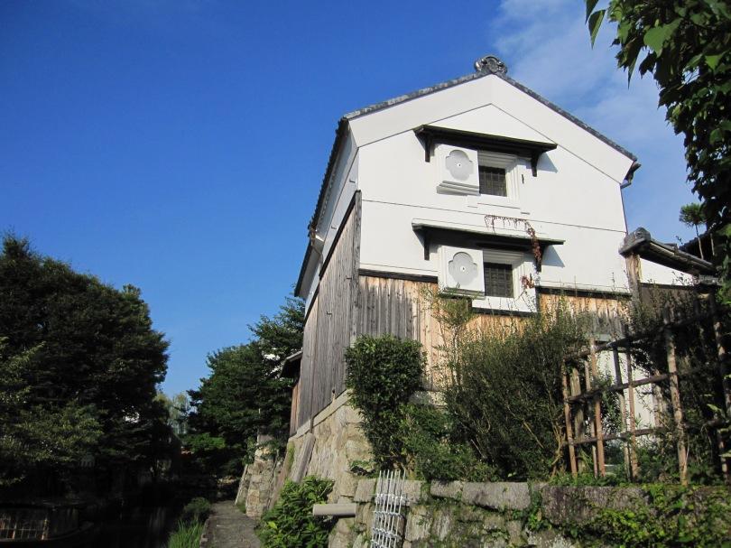 八幡堀の蔵