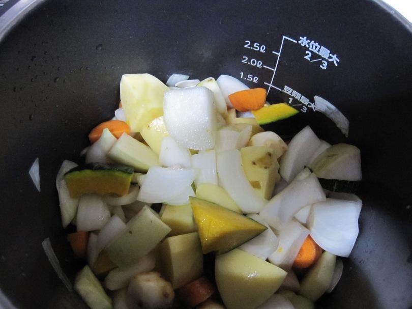 カレー用野菜