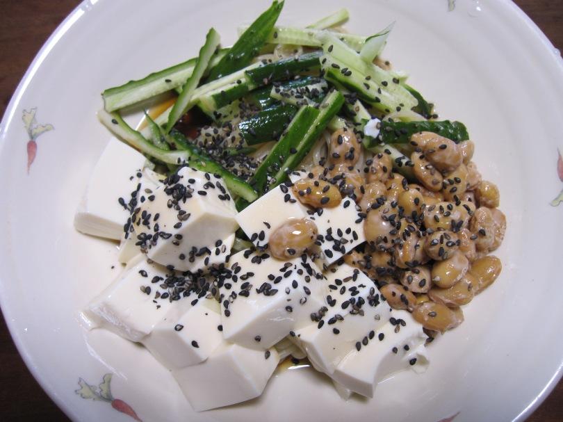 納豆冷やし中華