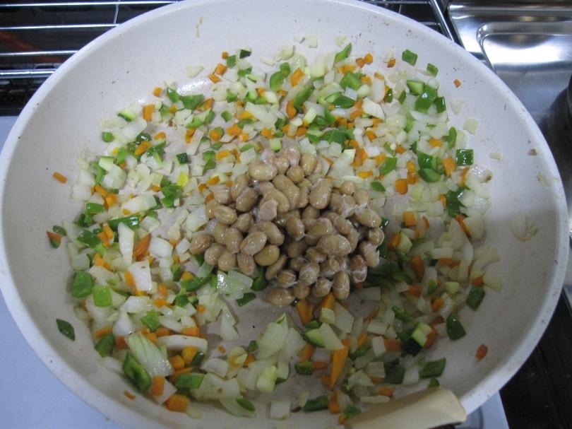 納豆野菜炒め3