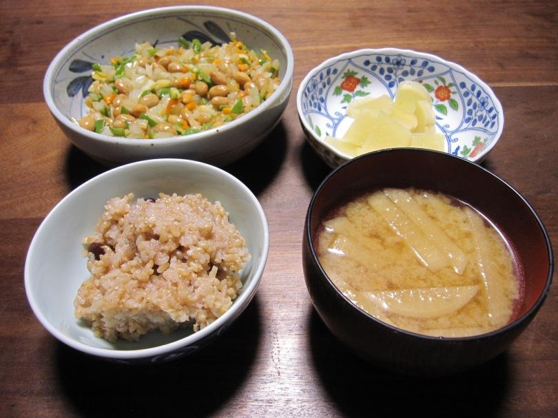 納豆野菜炒め5