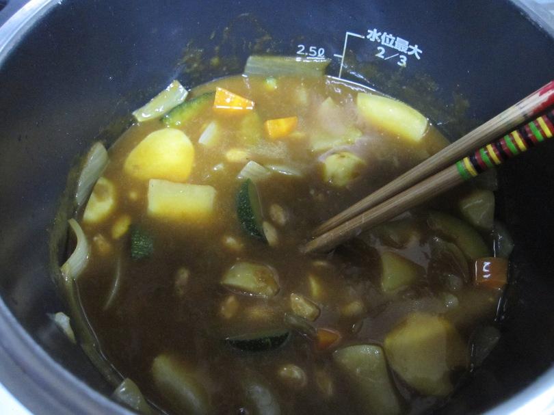 納豆in curry