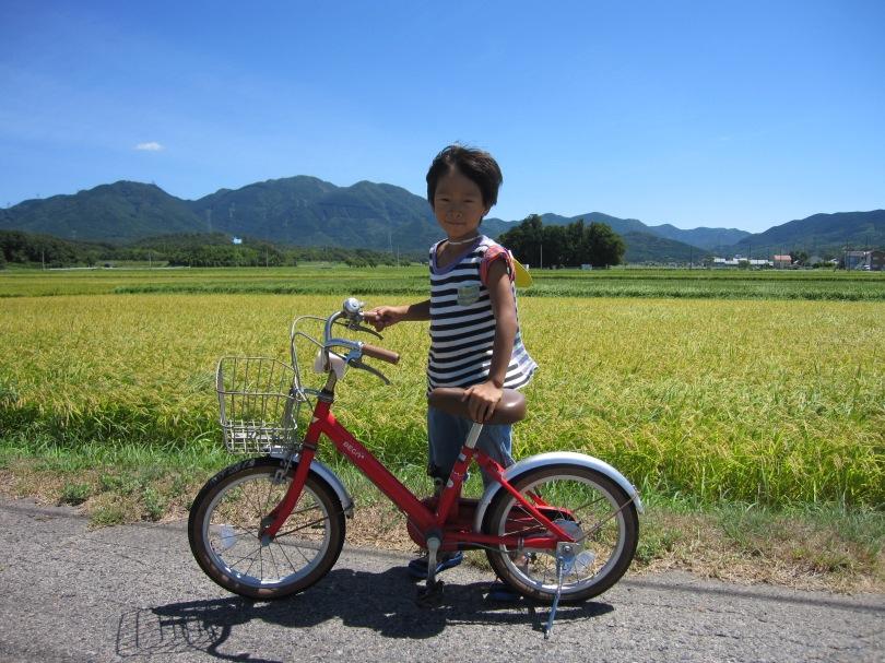 拓の自転車