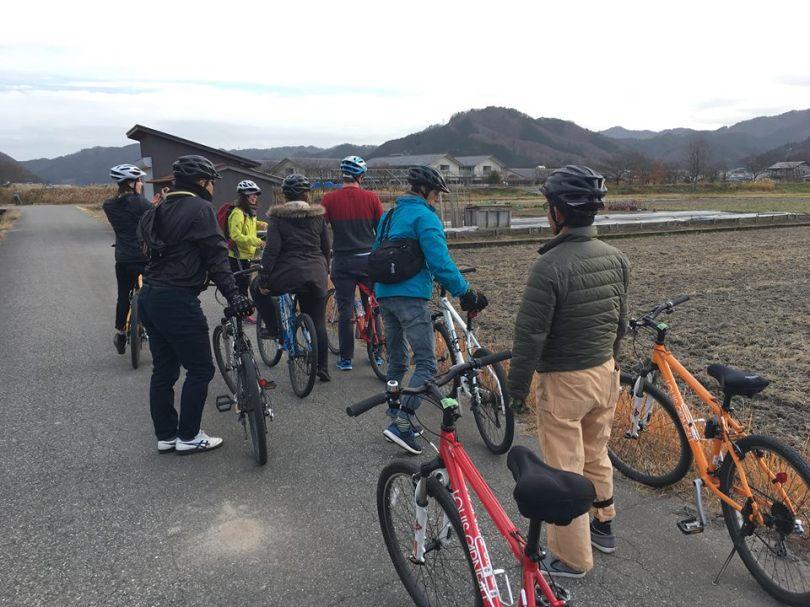 サイクリング田んぼ