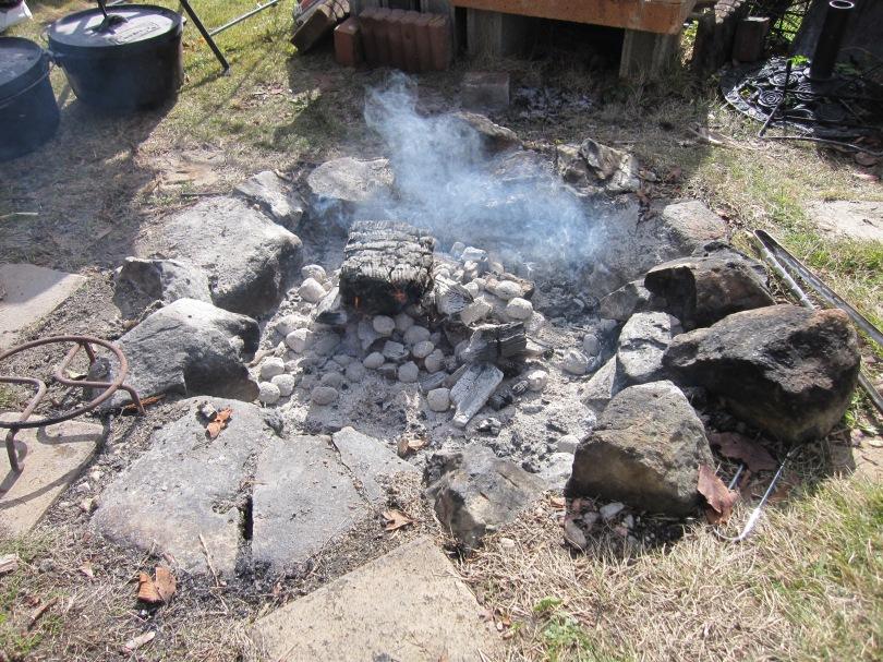 fire outside